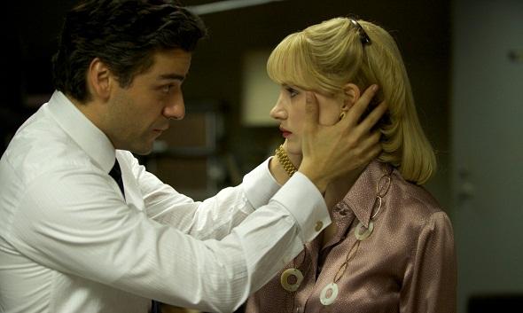 Oscar Isaac y Jessica Chastain en 'El año más violento'