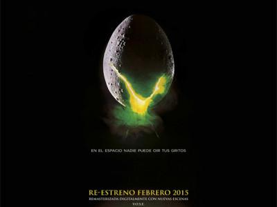 Póster de 'Alien, El Octavo Pasajero' Re-estreno 2015