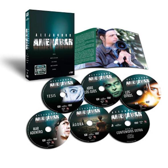 Exclusivo pack de las películas de Alejandro Amenábar