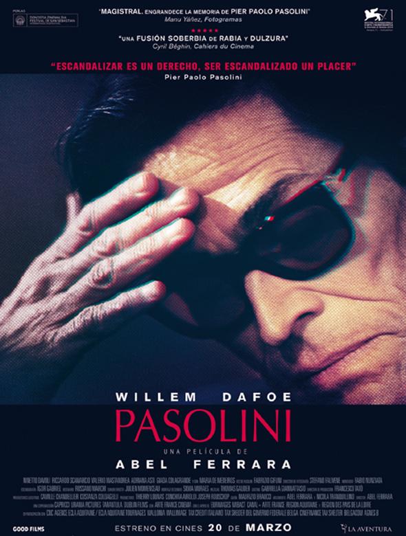 Póster de Pasolini.