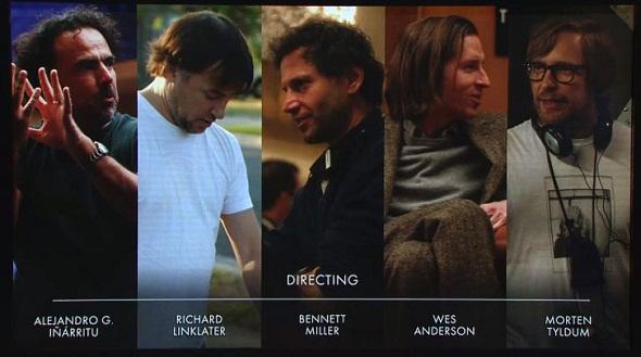 Candidatos al Oscar a la mejor dirección