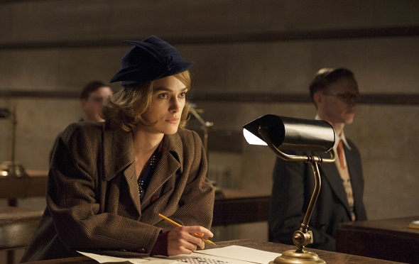 Keira Knightley, candidata por 'The imitation game'