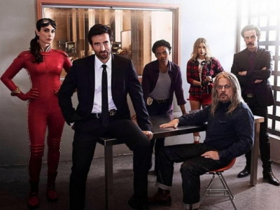 El reparto al completo de 'Powers'