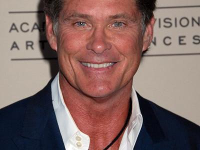 Un imagen del actor David Hasselhoff