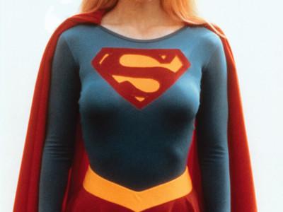 Una imagen de Helen Slater como Supergirl