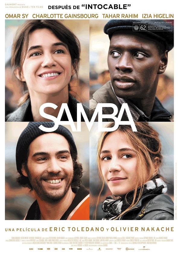 Samba, Póster en español