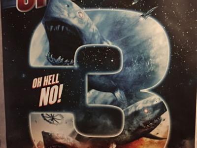 El demencial póster de Sharknado 3: Oh Hell No!