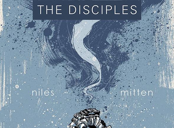 Portada del cómic The Disciples