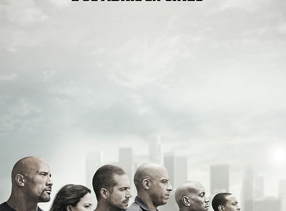 Cartel de la película 'Fast & Furious 7'