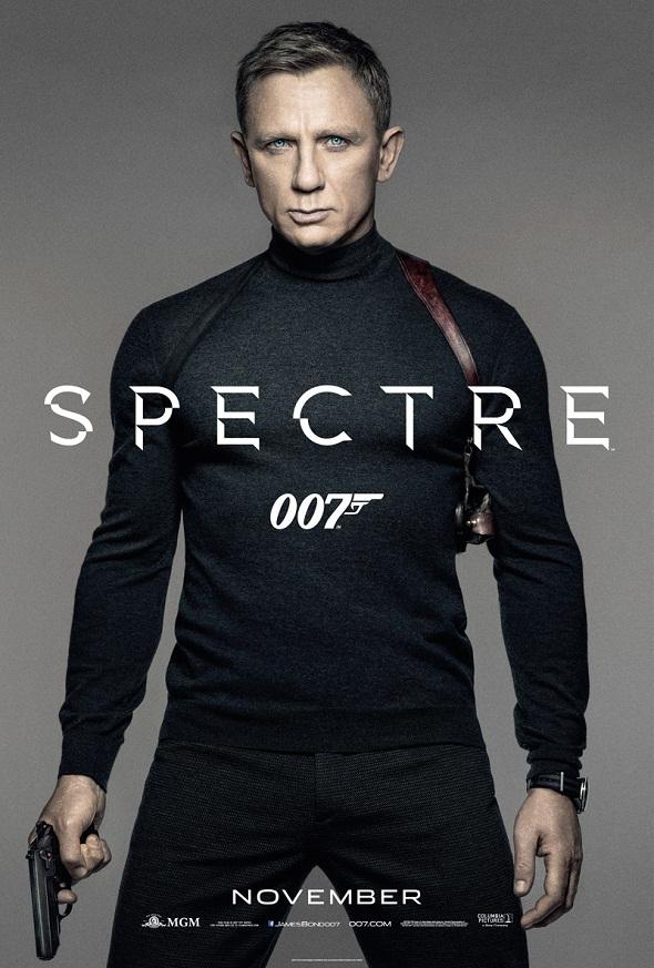 Teaser póster en color de 'Spectre'