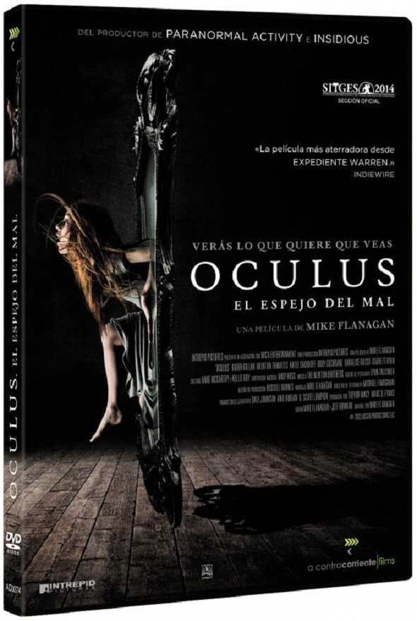 Oculus  el espejo del mal. Edición DVD