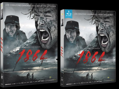 DVD y Bluray de '1864'