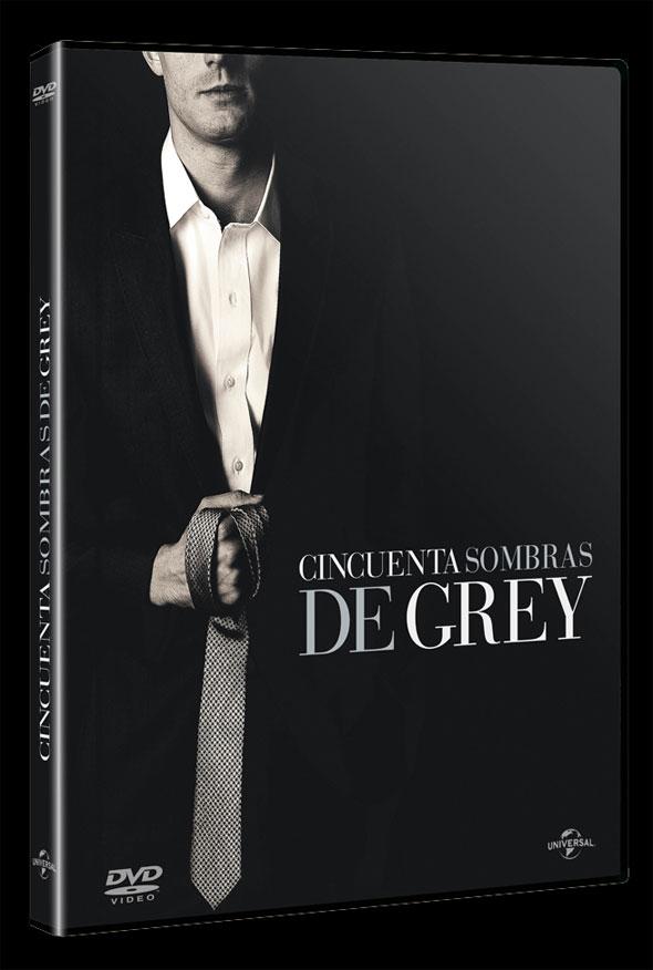 DVD 'Cincuenta sombras de Grey'