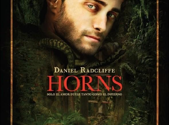 Póster en español de 'Horns'