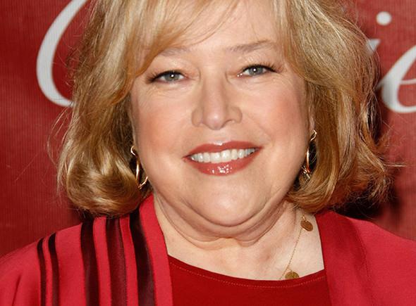 La actriz Kathy Bates