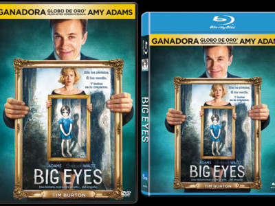 Carátulas DVD y BD 'Big eyes'