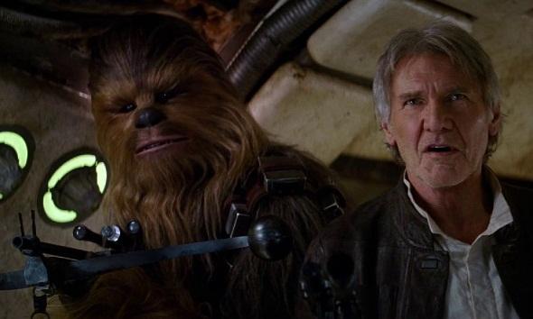 Han Solo y Chewbacca regresan en 'Star Wars: El despertar de la Fuerza'