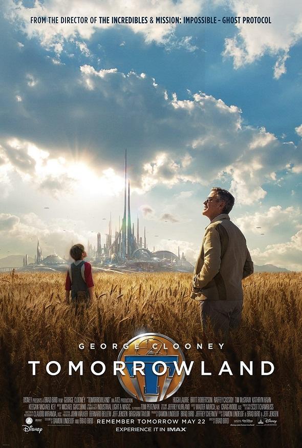 Póster de Tomorrowland. El mundo del mañana