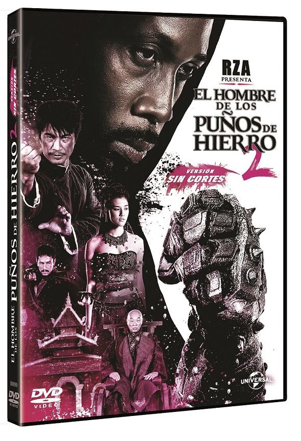 El hombre de los puños de hierro 2 en edición DVD