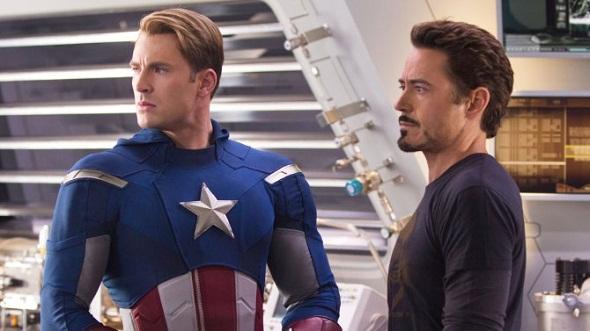 Capitán América vs Iron Man en 'Capitán América: Guerra civil'
