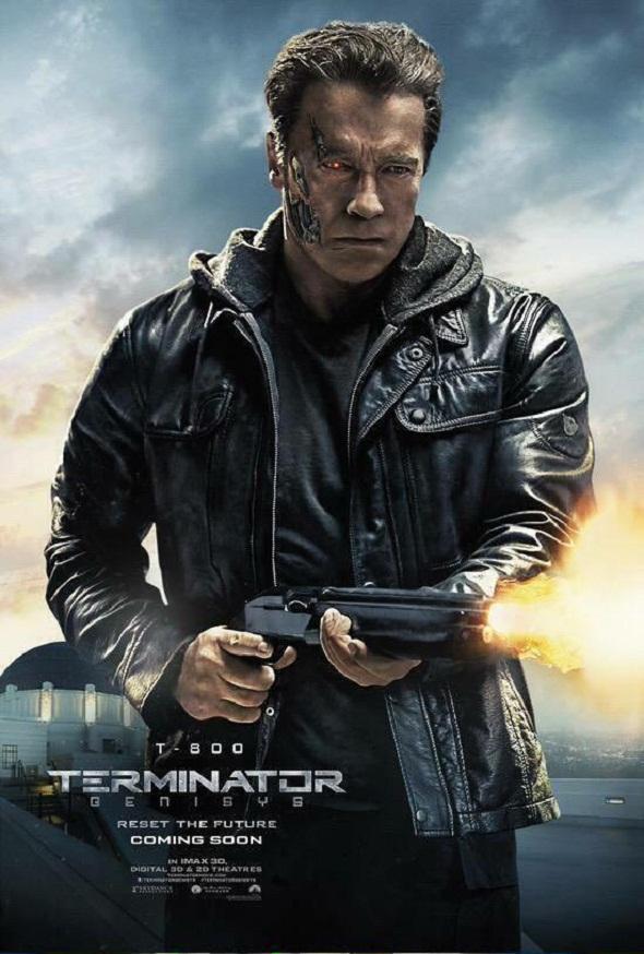 Póster para Schwarzenegger