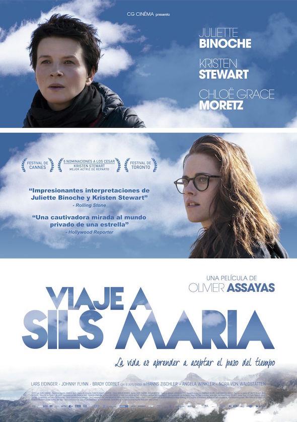 Nuevo cartel de la película 'Viaje a Sils Maria'