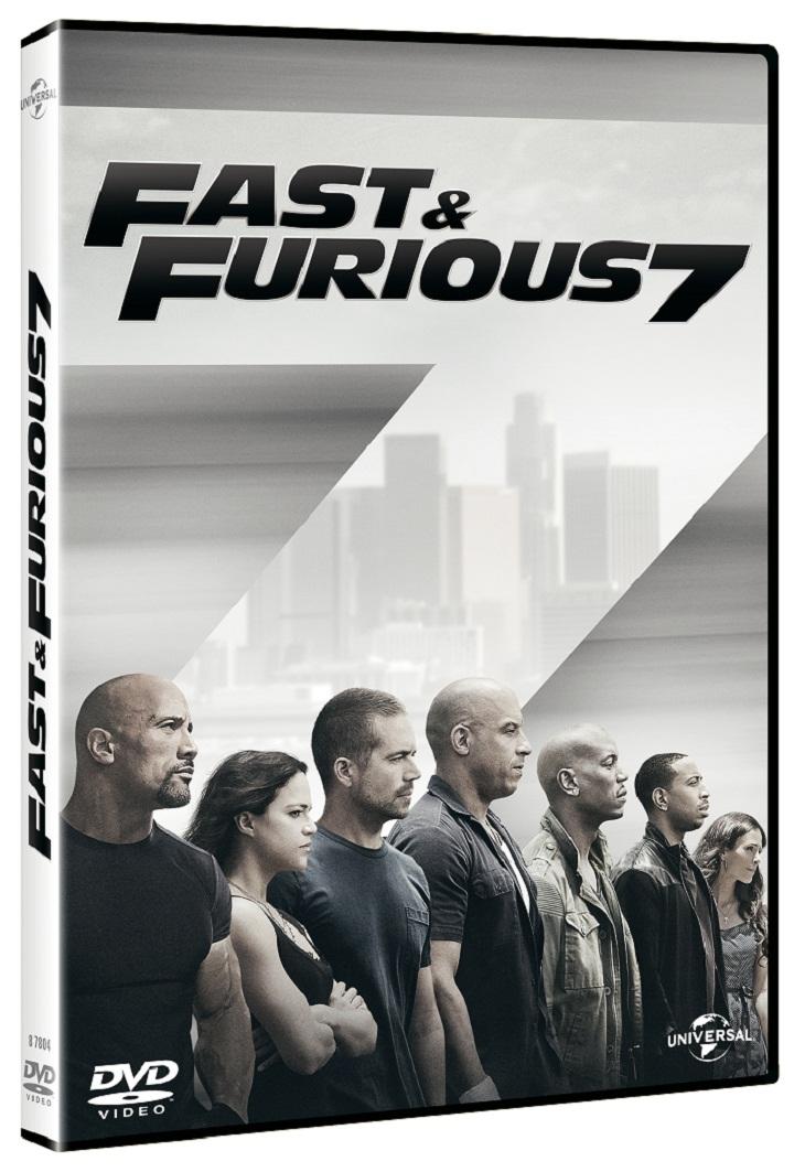 Edición DVD de Fast&Furious7