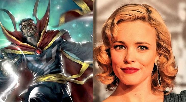 Rachel McAdams negocia para participar en 'Doctor Strange'