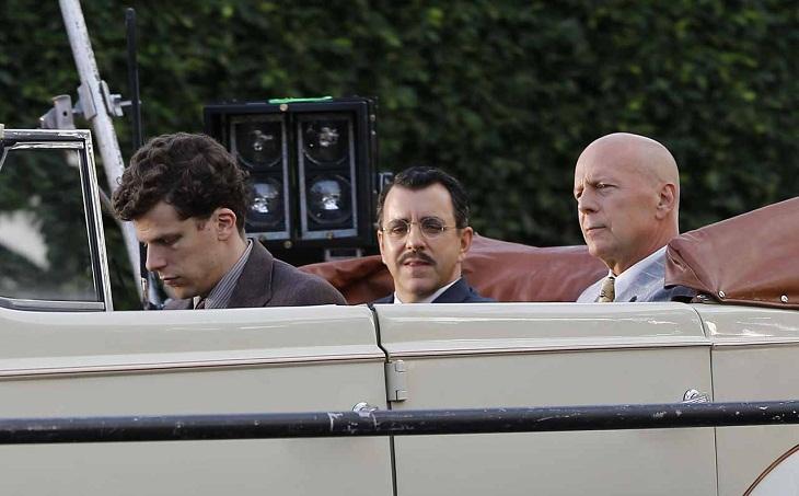 Willis y Eisenberg trabajan a las órdenes de Woody Allen