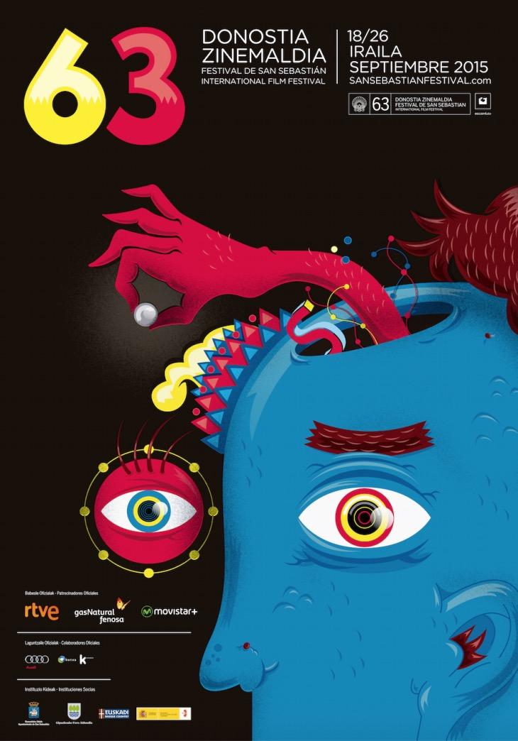 ac_15_Cartel de la 63 edición festival de cine de san sebastian