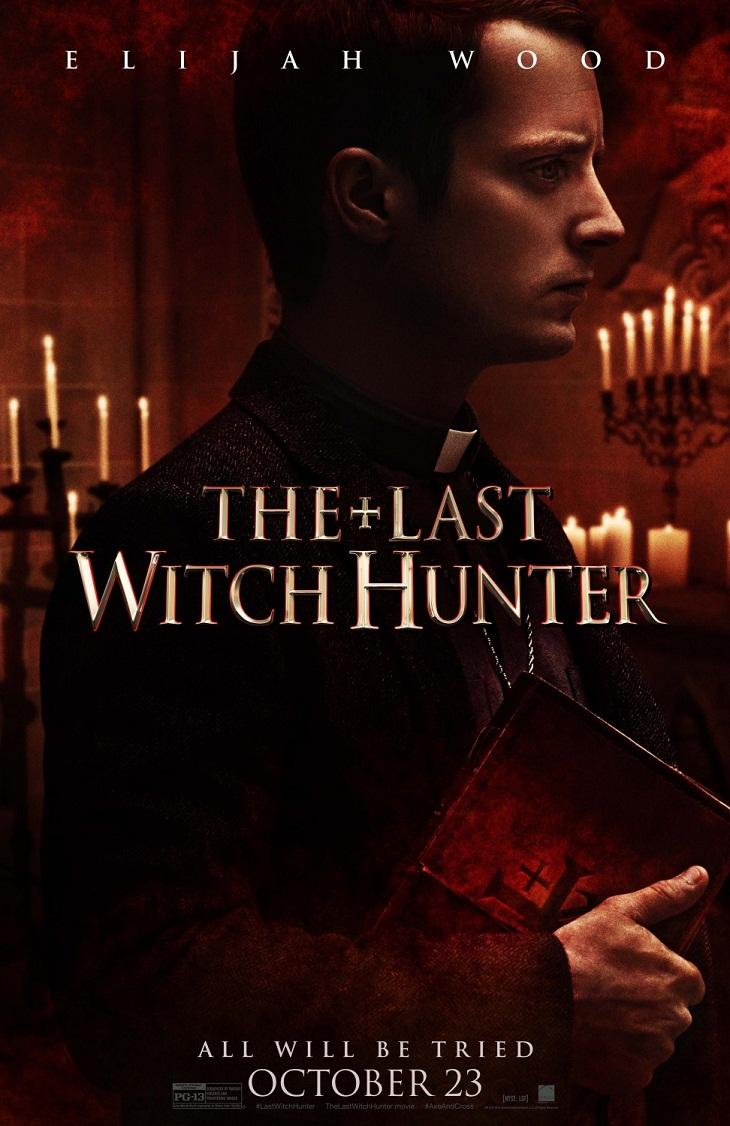Elijah Wood protagoniza su propio cartel de 'The last witch hunter'