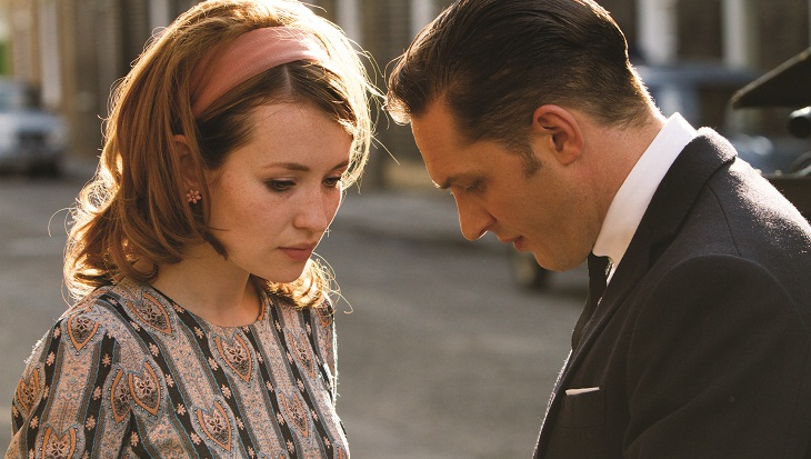 Emily Browning acompaña a Tom Hardy en 'Legend'