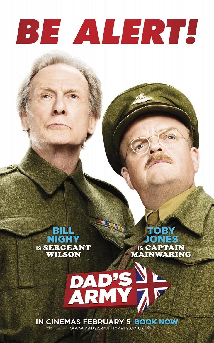 Cartel de la película con Toby Jones y Bill Nighy