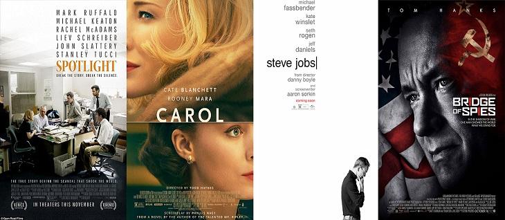 Algunos de los títulos que más darán que hablar en los Oscar