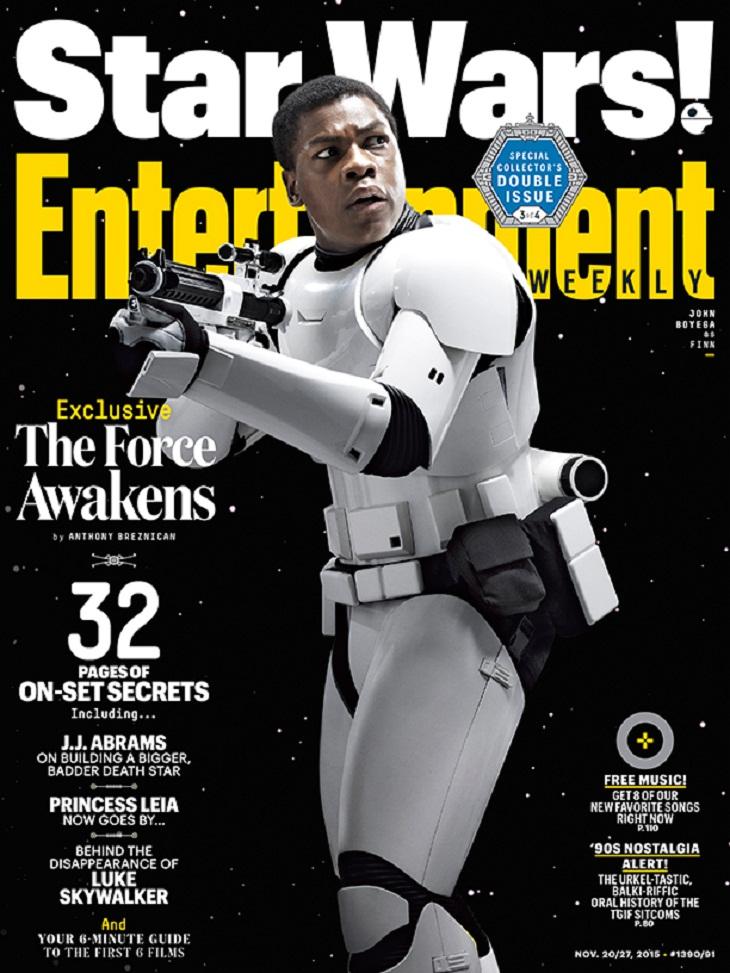 John Boyega es uno de los nuevos héroes de la saga