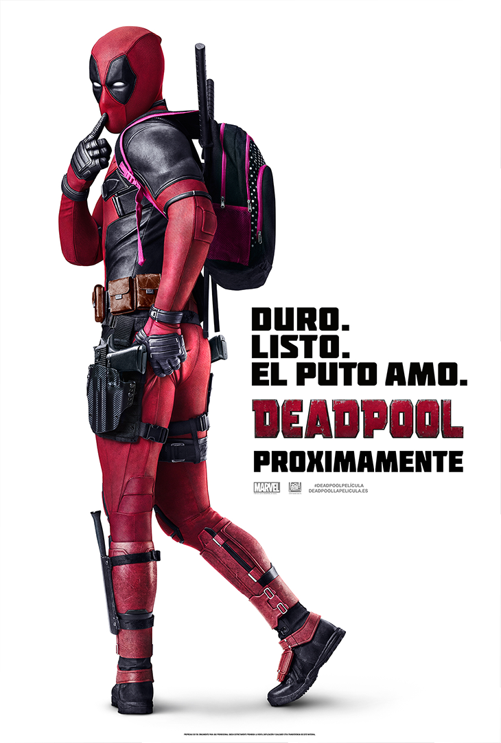 Póster en español de Deadpool