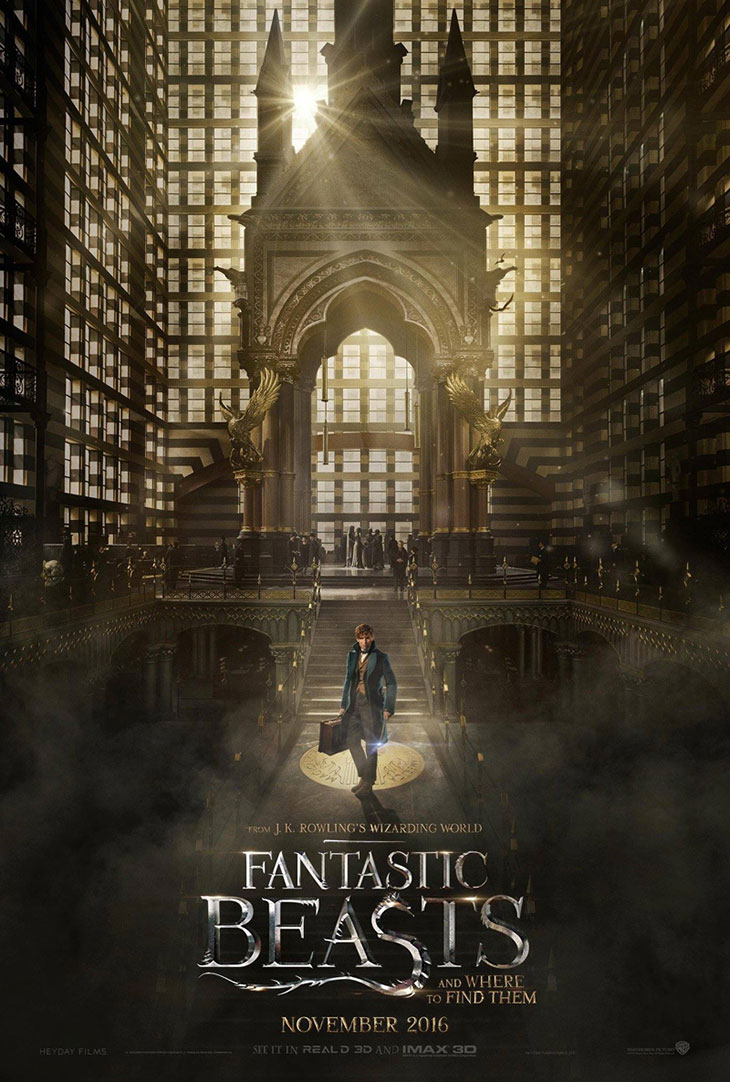Póster de 'Fantastic Beasts and where to find them