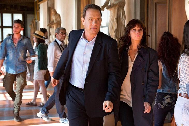 Tom Hanks y Felicity Jones en 'Inferno'