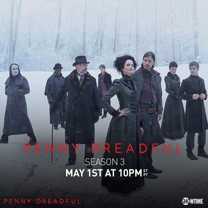 El cast de Penny Dreadful