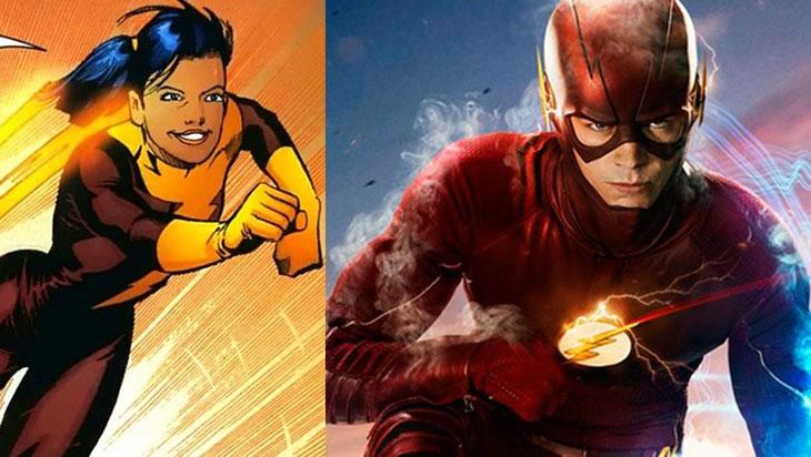 The Flash y Trajectory, juntos