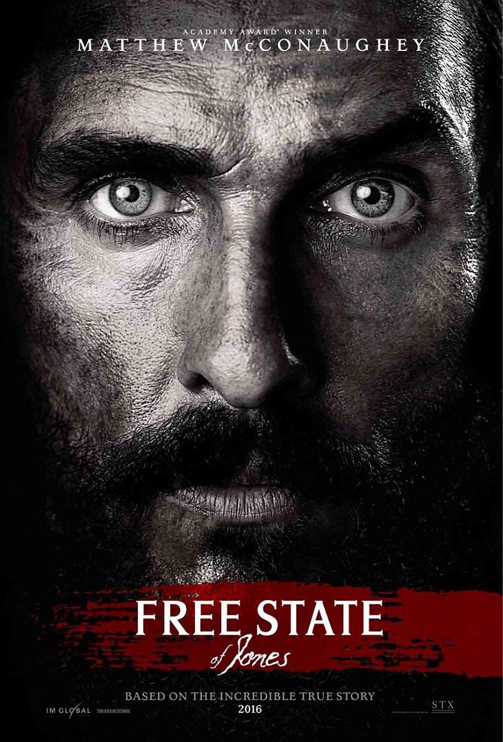 Póster de 'Free State of Jones'
