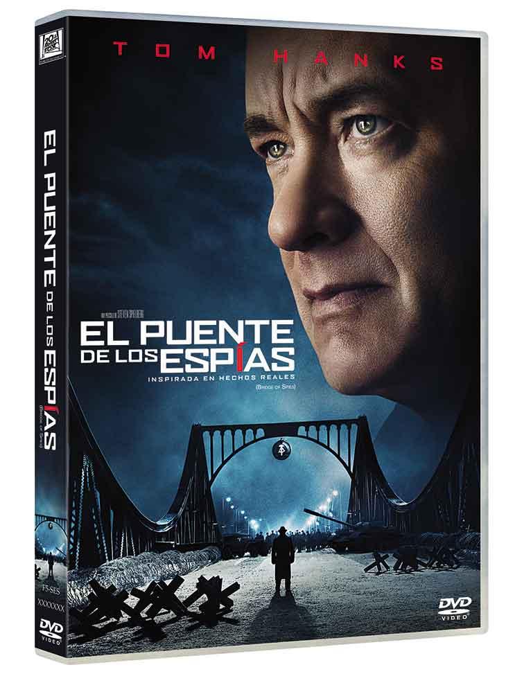 Carátula del DVD de El Puente de los Espías