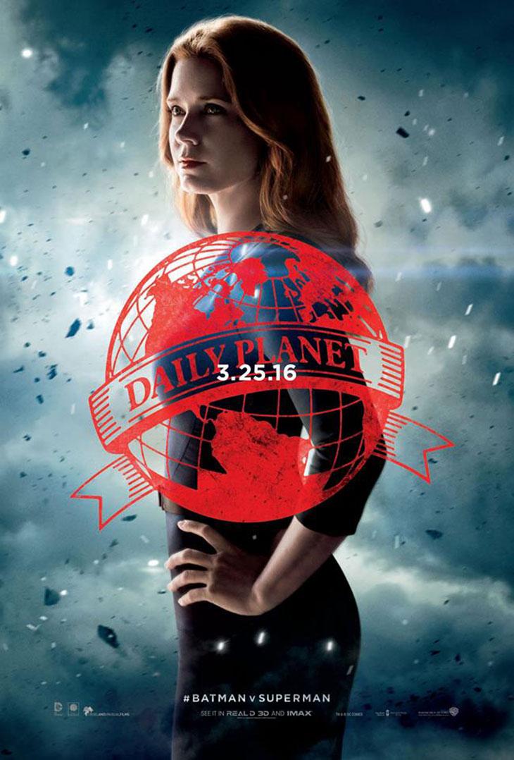 Lois Lane en Batman v Superman: El amanecer de La Justicia