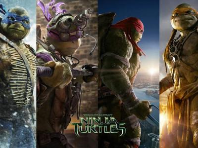 ¡No te pierdas los posters en movimiento de! 'Ninja turtles: fuera de las sombras'