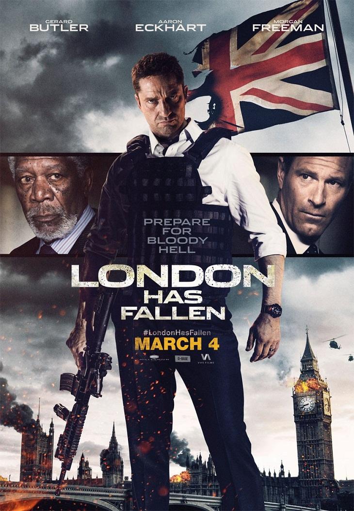 Póster 'Objetivo: Londres'