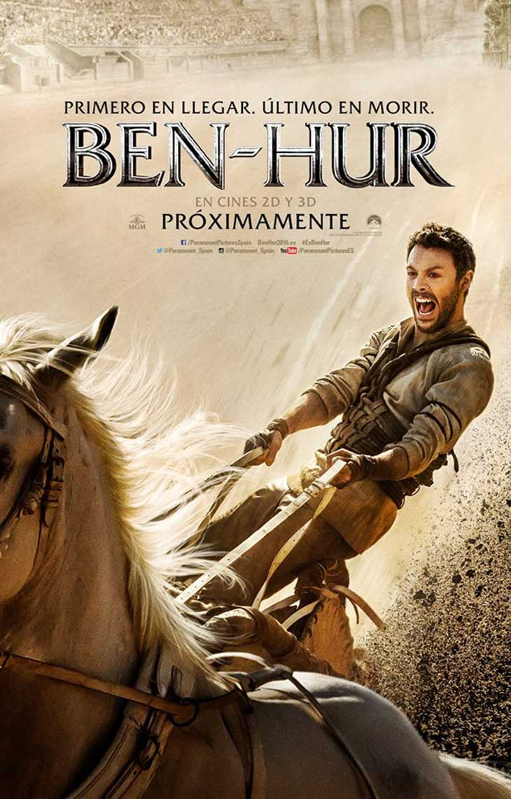 Póster en español de Ben_hur