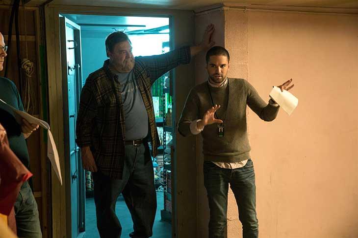 John Goodman y Dan Trachtenberg en Calle Cloverfield 10