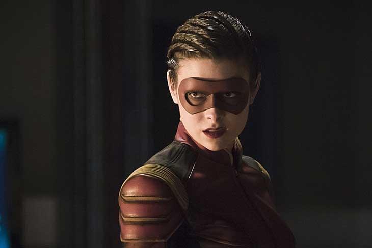 Una imagen de Trajectory, la velocista de The Flash