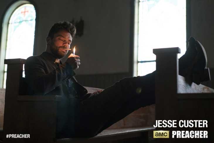 Jesse Custer en Preacher