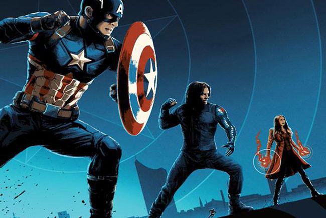 Capitán América: Civil War póster AMC destacada